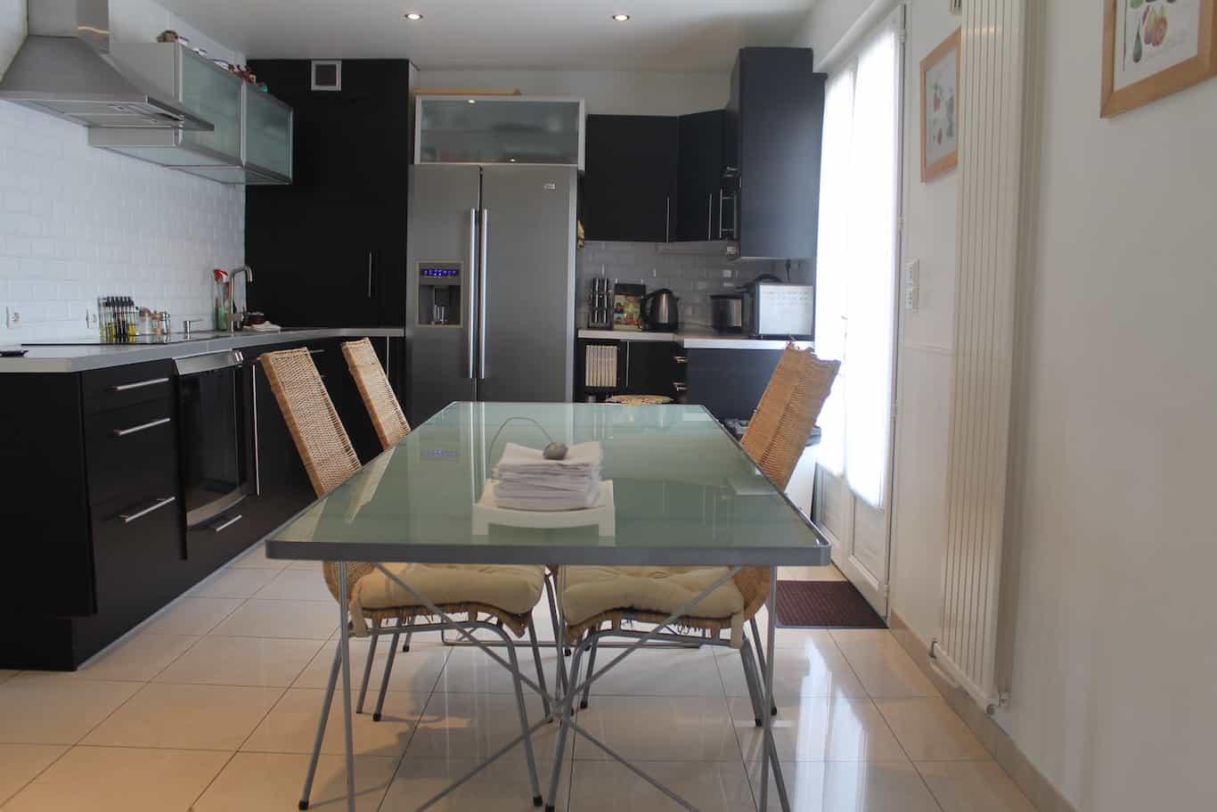 Maison contemporaine for Parquet carrelage champigny sur marne